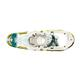 Women's Wilderness Snowshoe - green and white