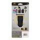 Clip Case Cargo Universal Rugged Holster - Double Wide - Black - a