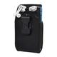 Clip Case Cargo Universal Rugged Holster - Double Wide - Black - b