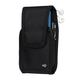 Clip Case Cargo Universal Rugged Holster - Double Wide - Black - c