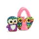 FP PET CARRIER OWL YOU NEED IS LOVE PINK -