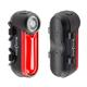 Radiant 125 Rechargeable Bike Light - Red - a
