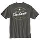Men's Short Sleeve Relaxed Fit Heavy Weight Pocket Tried And True Back Graphic - a