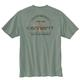 Men's Short Sleeve Relaxed Fit Heavy Weight Anvil Back Graphic T-Shirt - a