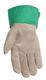 Kid's Leather Suede Palm Cuff Gloves -