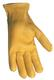 Men's Deerskin Shirred Gloves  - GLOVES DEERSKIN SHIRRED