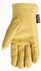 Men's Insulated Grain Deerskin Gloves - GLOVES DEERSKIN SHIRRED LINED