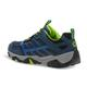 Kid's Youth Moab FST Low Waterproof Sneaker Shoe - NAVY/BLUE