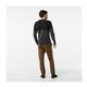Mens Sparwood Colorblock Crew Sweater - CHARCOAL_HEATHER