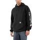 Men's Midweight Hooded Logo Sweatshirt - MID SIGNATURE LS HOODED SWEATSHIRT-CORE