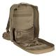 Deluxe Professional Special Ops Field Medical Pack Lite - Inside View in Coyote