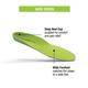 Wide Heritage Green Hike Insole -